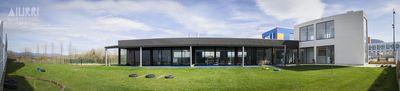 El proyecto aiurri. aulas y espacios. jard%c3%adn